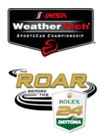 Roar Before 24 at Daytona IPC race at half-time standings - #17 Norma in lead