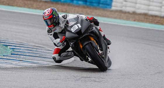 Jerez test sees Haslam and Honda on top in WorldSBK as day one closes