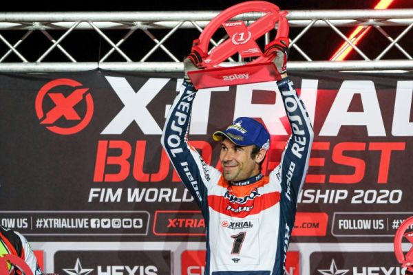 Tight victory number 65 for Toni Bou in the X-Trial World Championship
