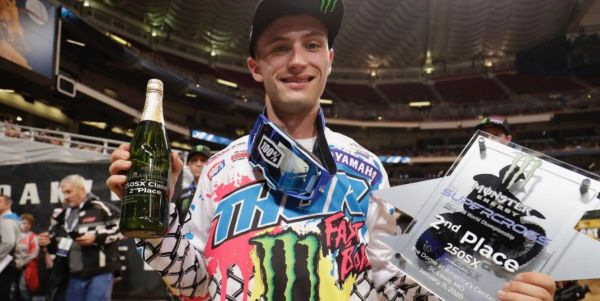 Monster Energy Star Yamaha Racing's Justin Cooper Finishes Second in St. Louis