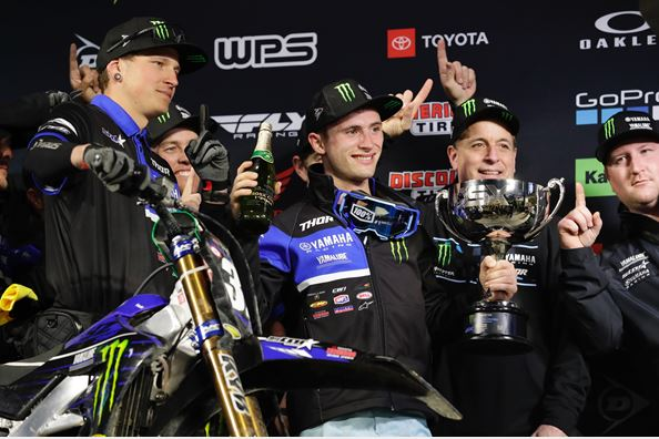 Monster Energy Star Yamaha Racing Comes Out Swinging with Another 1-2 Finish at Anaheim I