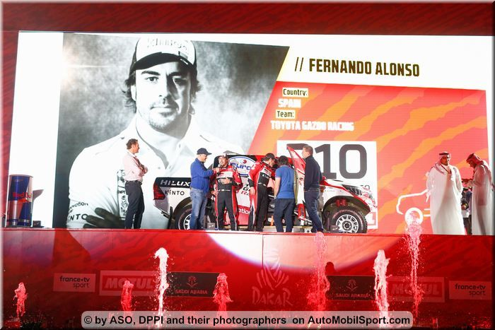 Fernando Alonso finished 13th in Rally Dakar - stage by stage review