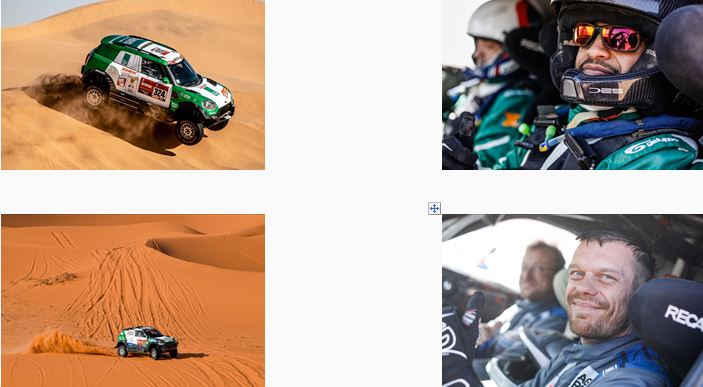 Dakar Rally 2020 -Seven MINI in the top 20