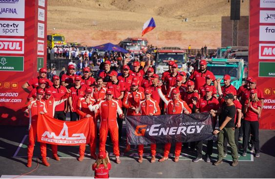 G-ENERGY TEAM: DAKAR has finished!