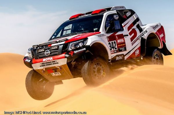 Red Lined Navaras build on incredible record at Dakar Rally 2020