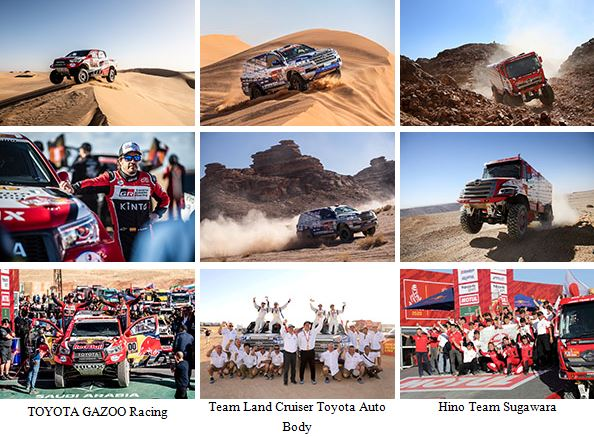 Comment from President Akio Toyoda Concerning the Outcome of the 2020 Dakar Rally