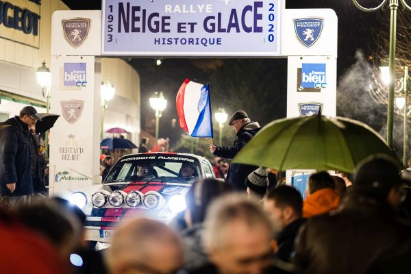 Rallye Neige & Glace verifications, SS1