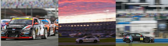 IMSA Michelin Challenge  - Gabby Chaves' Hyundai fastest in Daytona test
