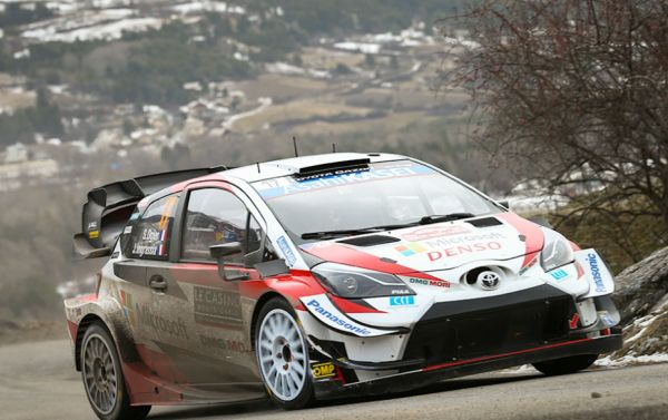 Ogier and Evans impressively lead the way on TOYOTA GAZOO Racing debuts
