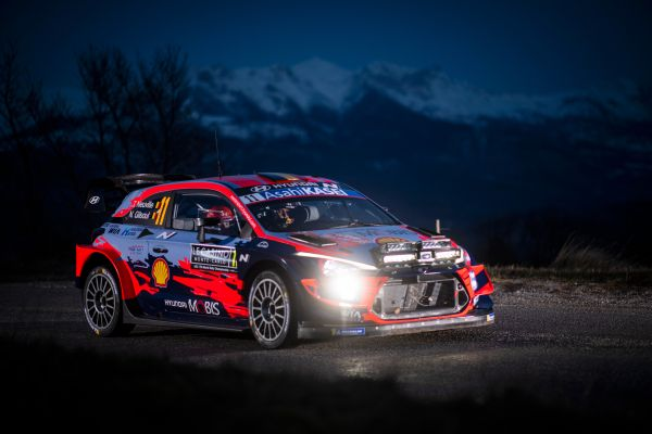 Monte-Carlo Rally stage 2 Bayons-Bréziers result and classification - Neuville in lead