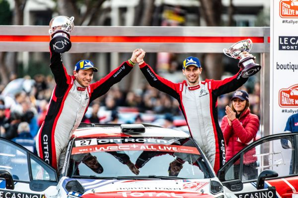 Citroën quotes after Monte-Carlo Rallye 2020