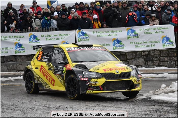 Grégoire Munster tops a successful performance with 2 scratches in WRC3
