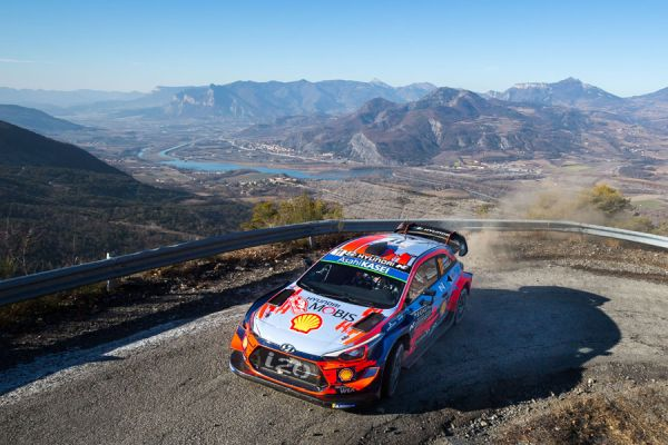 Hyundai's title defence begins at Monte Carlo Rally