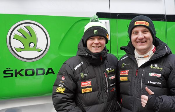 SKODA Motorsport cooperates with Oliver Solberg in WRC3 category