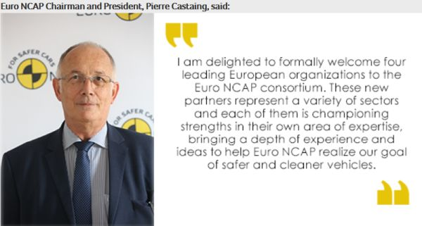 Euro NCAP mobilizes new partners to promote safer and cleaner vehicles in Europe