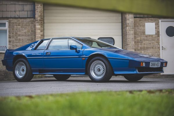 """Holy Grail"" Lotus Esprit for sale in ""no reserve"" auction"