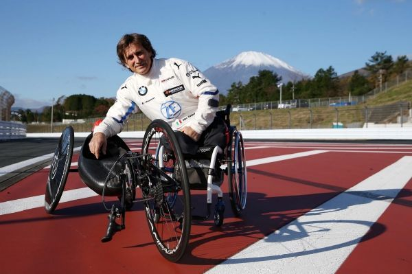 "Alessandro Zanardi: ""There are aspects that we can use as a starting point for a better life for every one of us""."