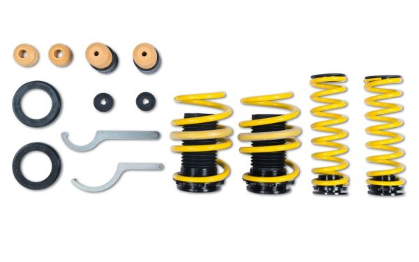 ST suspensions is developing height-adjustable suspension springs for more and more vehicles