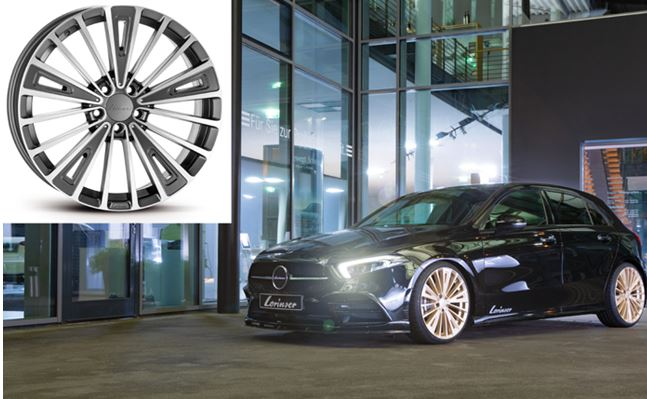 The new Lorinser RS12 alloy wheels - Tuning style in the full dozen