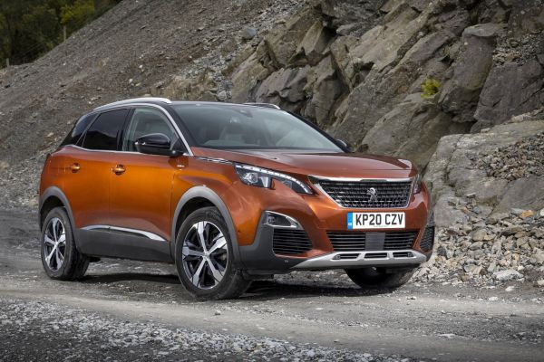 Peugeot 3008 SUV rated Britain's best mid-size SUV in the Driver Power Survey 2020