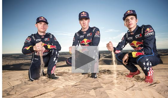 Watch Destination: Dirt to see the Red Bull Off-Road Junior Team tackle the Dakar Rally