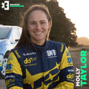 Australian Rally Champion Molly Taylor signs up to Extreme E Drivers' Programme