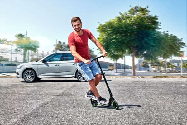 SKODA Scooter offers sustainable mobility for the last mile