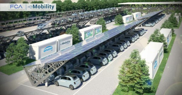 FCA-ENGIE EPS begin work on vehicle-to-grid pilot project