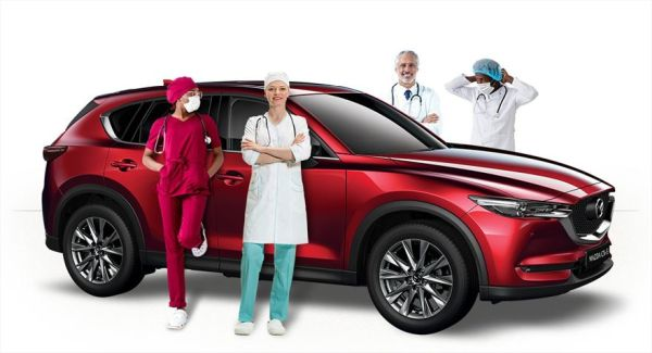 Mazda South Africa supports healthcare workers