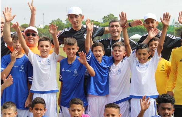 UEFA and Real Madrid foundations support disadvantaged children across Europe