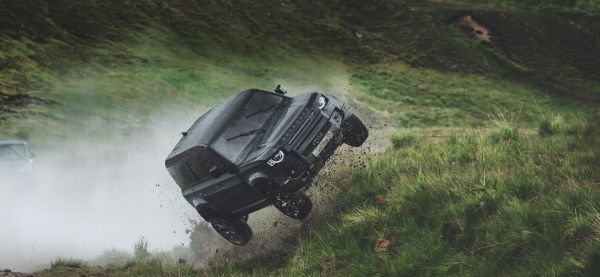 New Land Rover Defender - It does all its own stunts