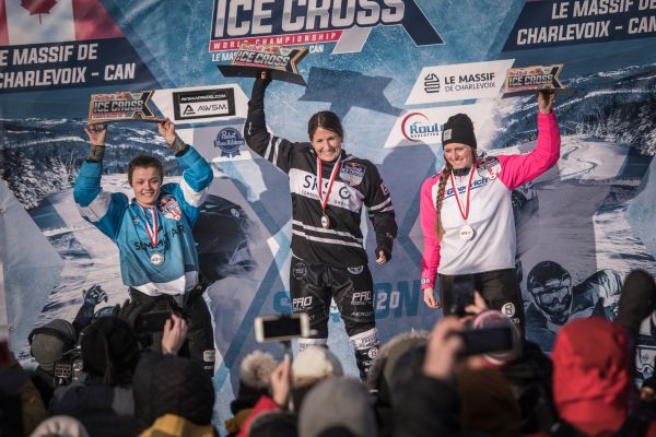 Red Bull Ice Cross ATSX 500, Le Massif de Charlevoix final results WOMEN