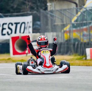 Rashid Al Dhaheri claims big karting victory in Italy on ladder to F1