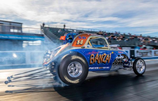 "Nostralgia Nationals to launch ""Historic Drag Racing"" season at Santa Pod Raceway"