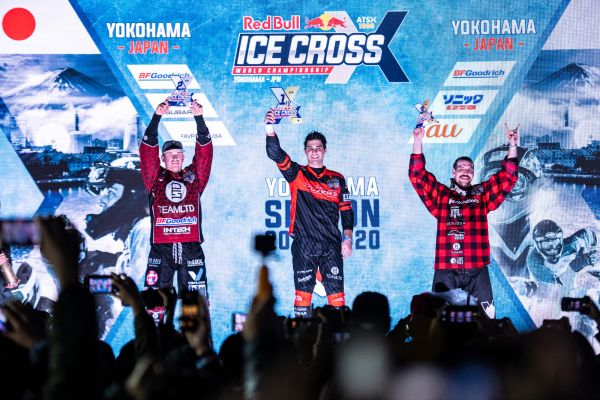 Red Bull Ice Cross ATSX Yokohama MEN Final Classifiction