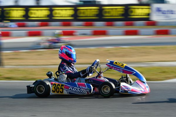 Kosmic Kart Racing positive performances at the WSK Super Master Series