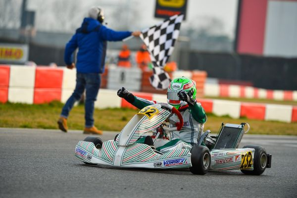 Tony Kart Racing - Victory at the Winter Cup at South Garda Karting