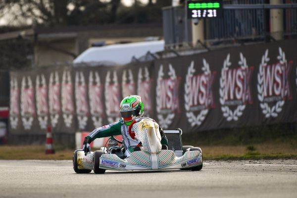 Tony Kart Racing-Second victory at the WSK Super Master Series