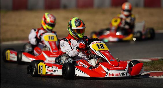 Alex Irlando strikes the first seasonal podium at the WSK Super Master Series