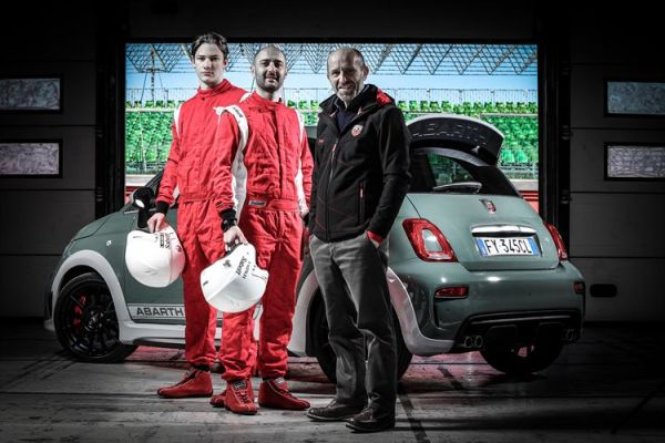 Abarth's racing plans for 2020 were announced at the champions' challenge in the new 695 70° Anniversario