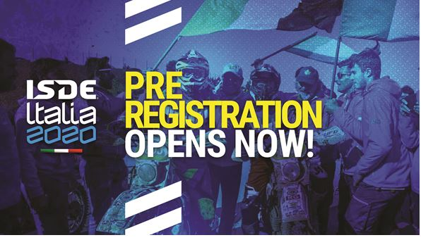 2020 FIM ISDE Pre-registration Opening