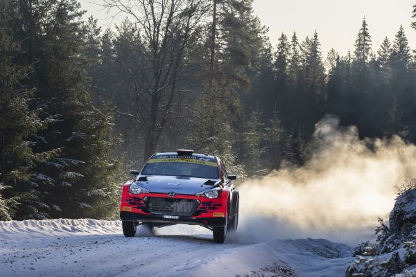 Hyundai Motorsport's WRC 2 crews endured a tough weekend in Rally Sweden