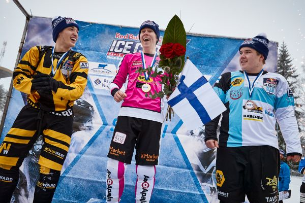 Red Bull Ice Cross Downhill in Rautalampi- Official results JUNIORS