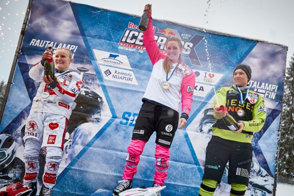 Red Bull Ice Cross Downhill in Rautalampi- Official results WOMEN