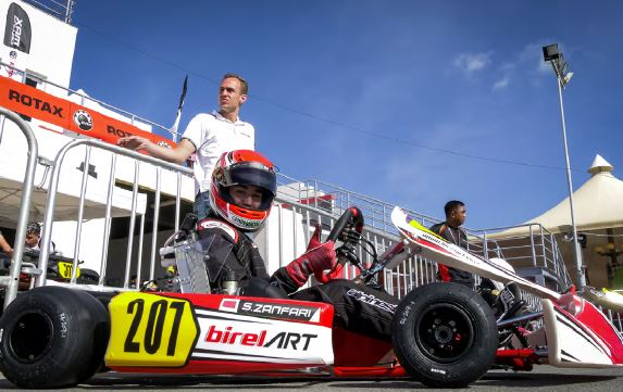 New podium in Oman for Suleiman Zanfari