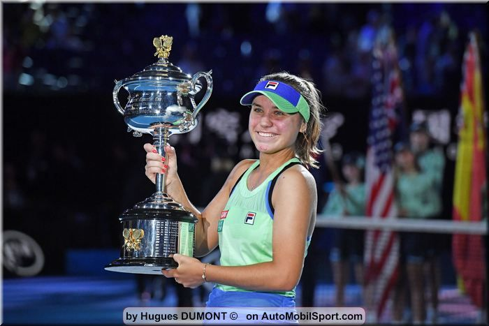 Australian Open winner Sofia Kenin to come to the Porsche Tennis Grand Prix