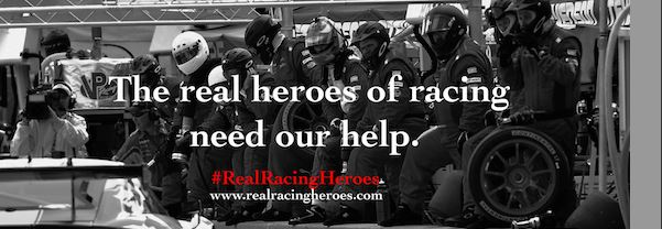 Hardpoint Paddock Foundation launches #RealRacingHeroes Campaign To Provide Emergency Assistance to Racing Crews