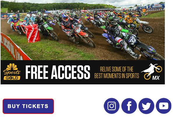 NBC Sports Gold Offers Free On-Demand Access to Pro Motocross Pass for Month of April
