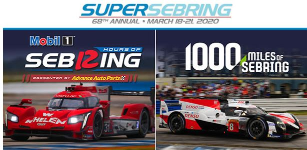 SuperSebring 2020 Gates Open Wednesday, March 18