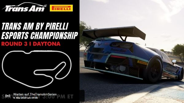 Trans Am by PIrelli Esports Championship Provisional Drivers' Points Standings following Daytona